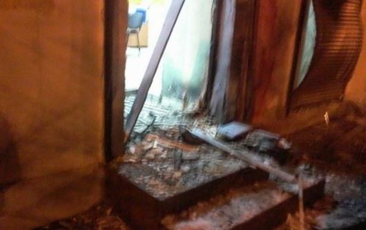 ВИДЕО: Взрыв в Одессе: взорван центр помощи бойцам АТО